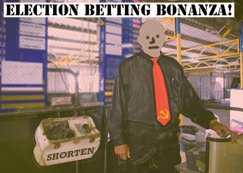Australian election betting odds betting on baseball strategies
